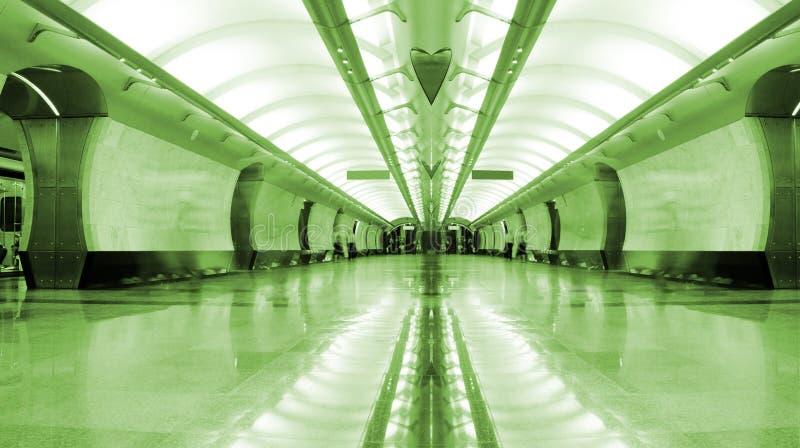 Stazione di metropolitana fotografia stock libera da diritti