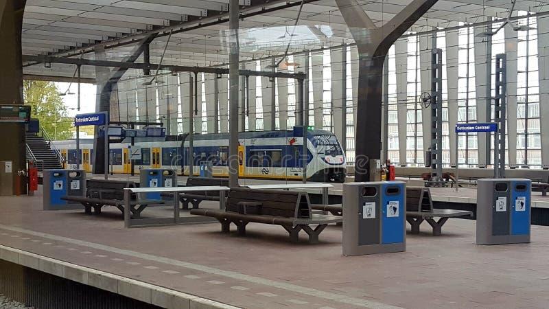 Stazione di Rotterdam fotografia stock libera da diritti