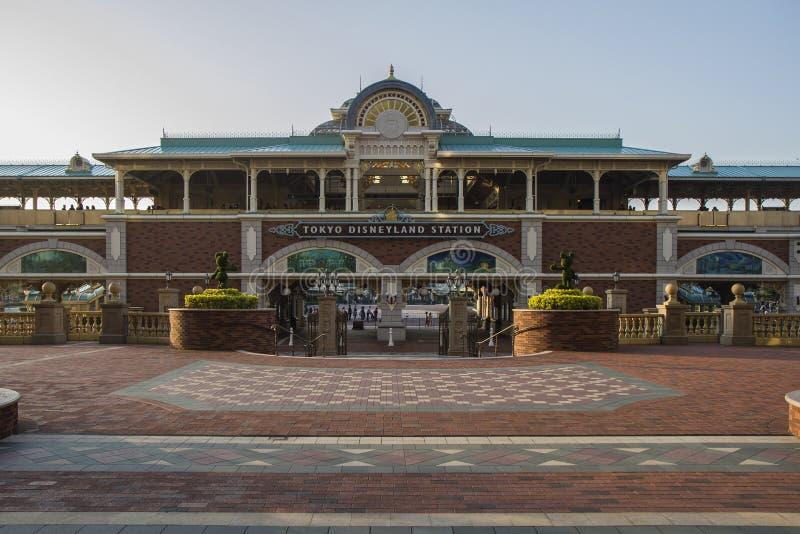 Stazione di Tokyo Disneyland fotografie stock