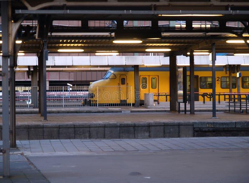 Stazione di Utrecht Centraal immagini stock libere da diritti