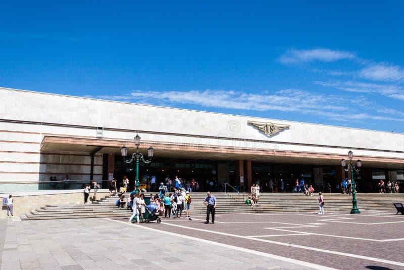 Stazione Di Venezia Santa Lucia stock foto