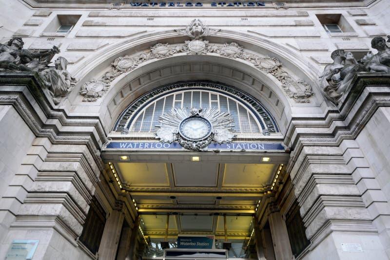 Stazione di Waterloo fotografia stock