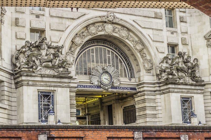 Stazione di Waterloo immagini stock
