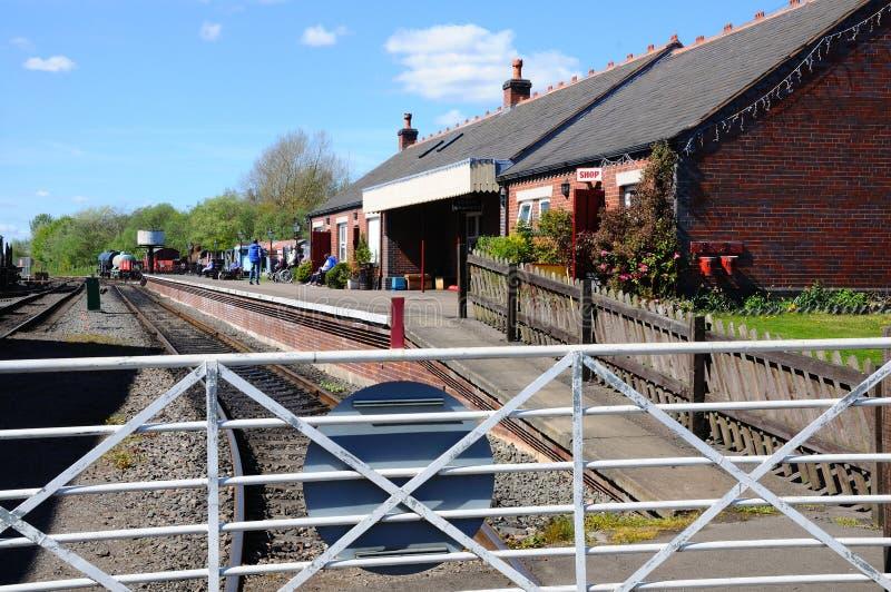Stazione ferroviaria ad ovest di Brownhills immagine stock libera da diritti