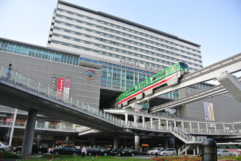 Stazione ferroviaria del Giappone immagini stock