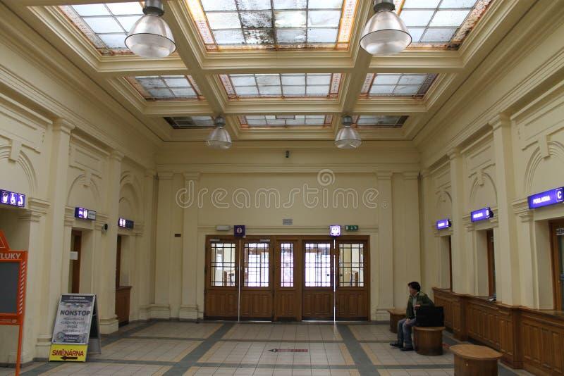 Stazione ferroviaria dell'atrio immagine stock libera da diritti