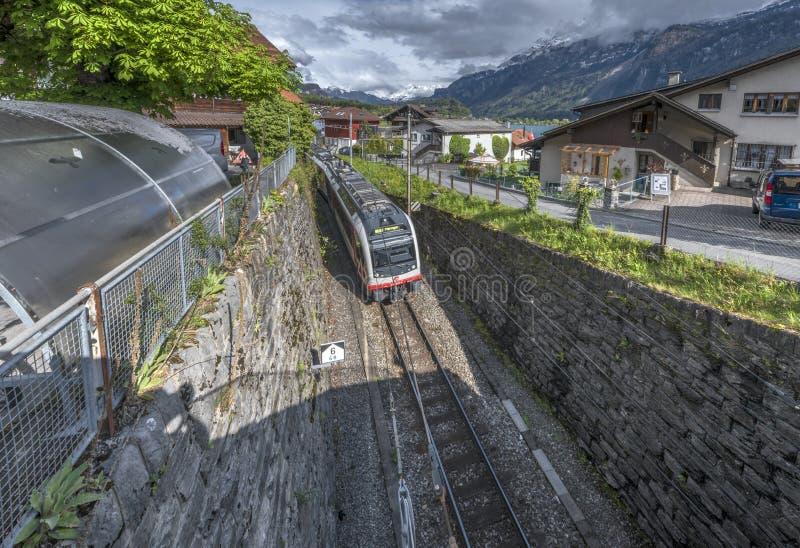 Stazione ferroviaria della campagna fotografia stock libera da diritti