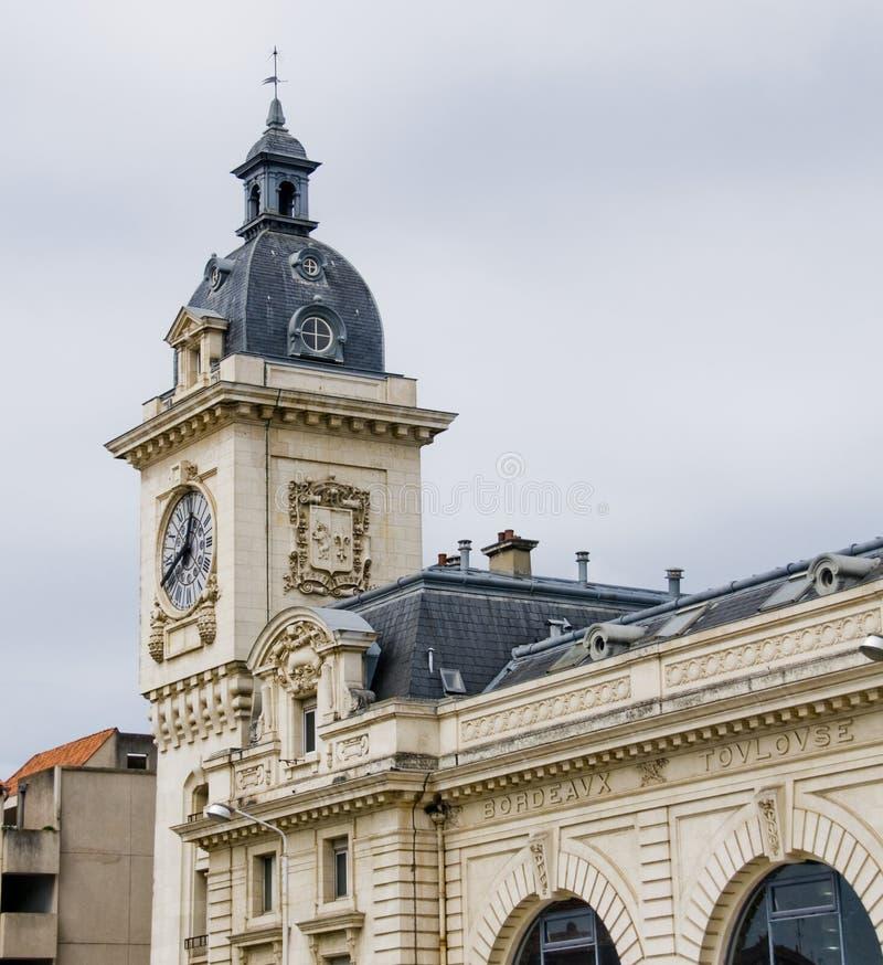 Stazione ferroviaria di Bayonne. Aquitaine, Francia immagini stock