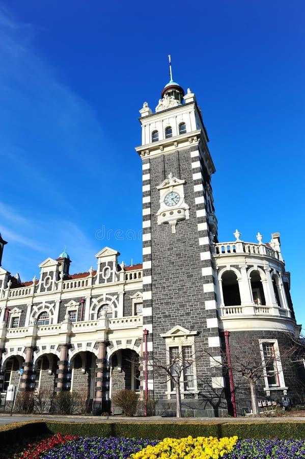 Stazione ferroviaria di Dunedin fotografia stock