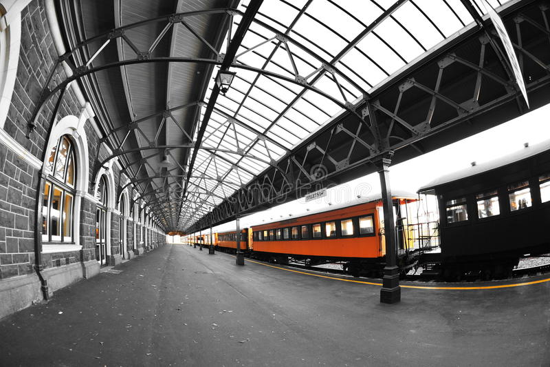 Stazione ferroviaria di Dunedin immagine stock libera da diritti