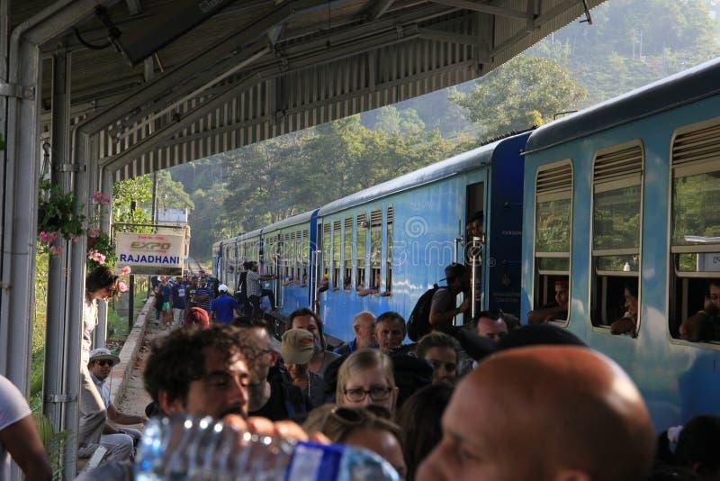 Stazione ferroviaria di Ella Town immagini stock
