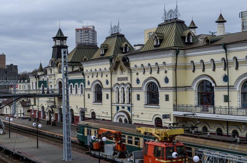 Stazione ferroviaria di Vladivostok fotografia stock libera da diritti