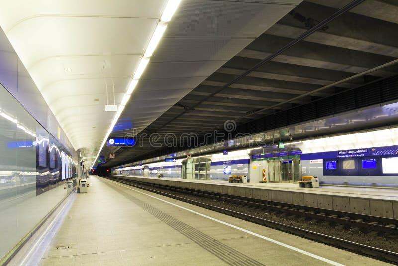 Stazione ferroviaria di Wien immagini stock