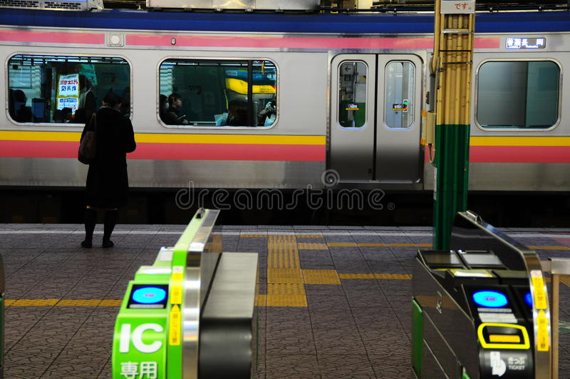 Stazione ferroviaria Niigata fotografia stock
