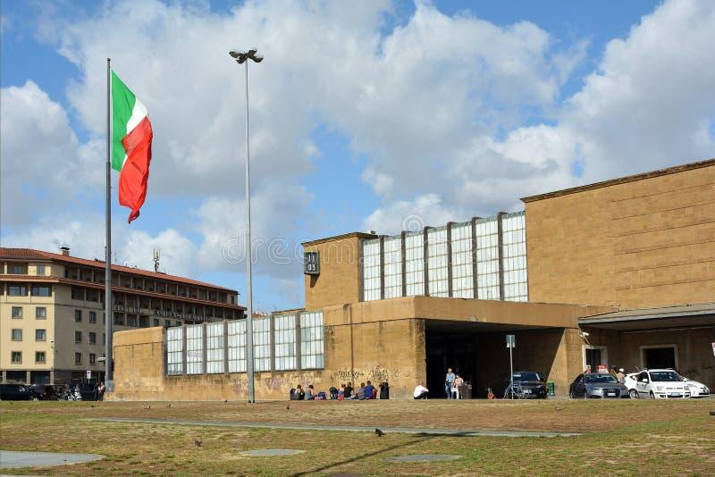 Stazione ferroviaria Santa Maria Novella Firenze - in Italia immagini stock