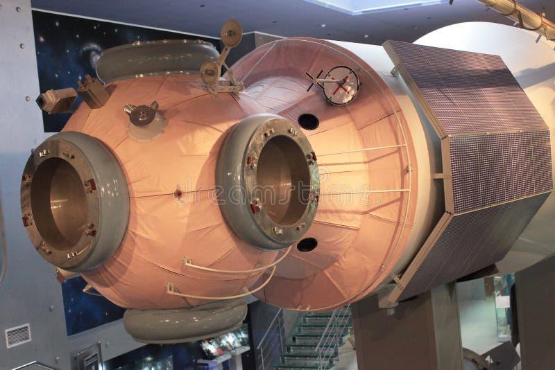 Stazione orbitale MIR dello spazio dell'URSS immagini stock libere da diritti