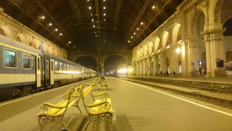 Stazione principale di Budapest fotografie stock