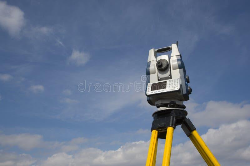 Stazione robot pronta a lavorare fotografie stock libere da diritti