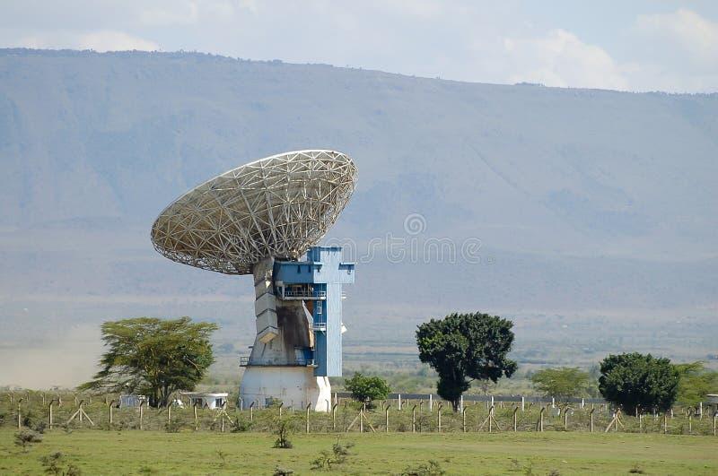 Stazione terrestre di Longonot - grandi Rift Valley - Kenya immagine stock libera da diritti