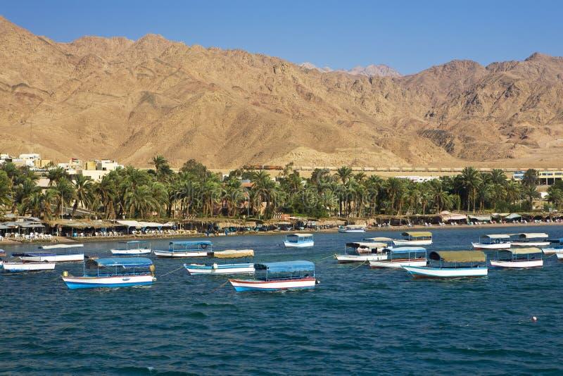 Stazione turistica di Aqaba fotografia stock