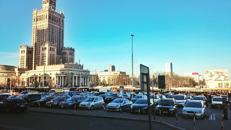 Stazione a Varsavia fotografia stock libera da diritti