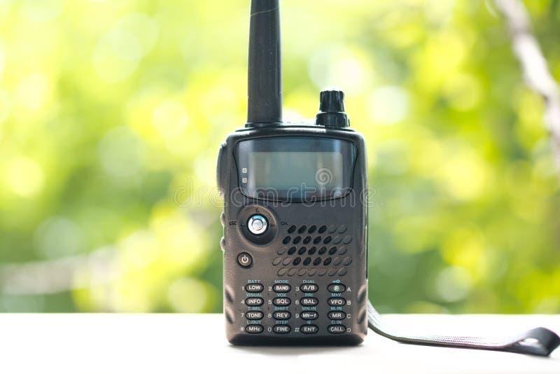 Stazioni radio portatili, walkie-talkie immagini stock libere da diritti