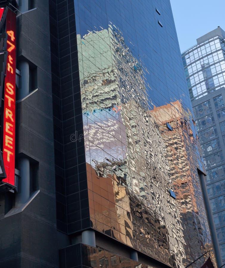 47ste Straat, de Stad van Manhattan, New York (Diamond District) stock fotografie