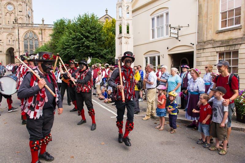 34ste Warwick Folk Festival stock afbeelding
