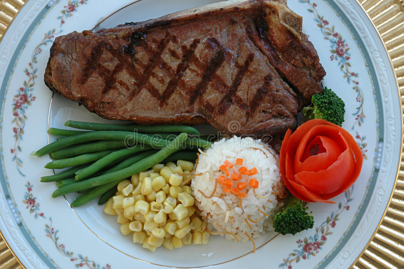 steak royaltyfria foton