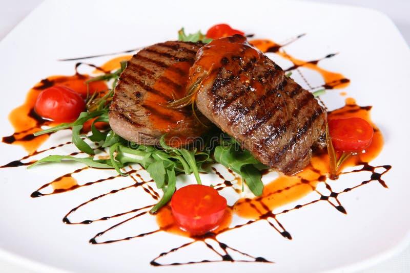 Steak royaltyfri bild