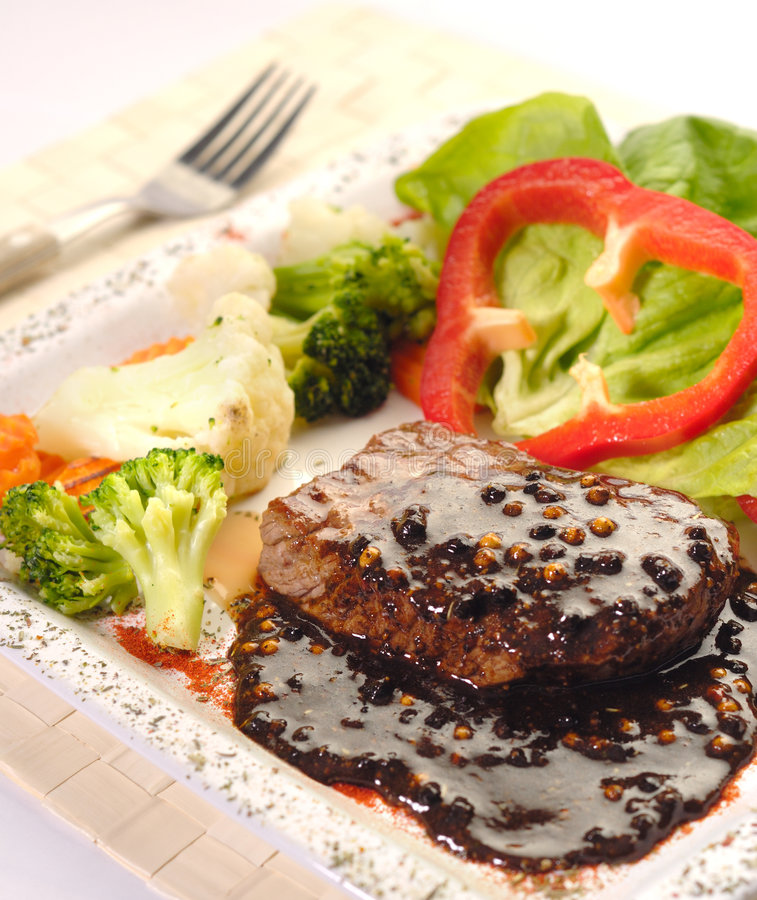 The Steak stock images