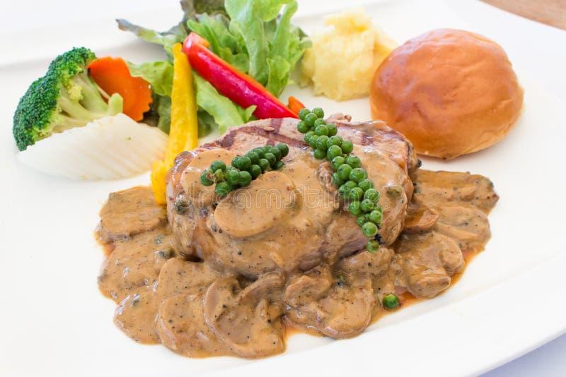 Steak_1 fotografía de archivo libre de regalías