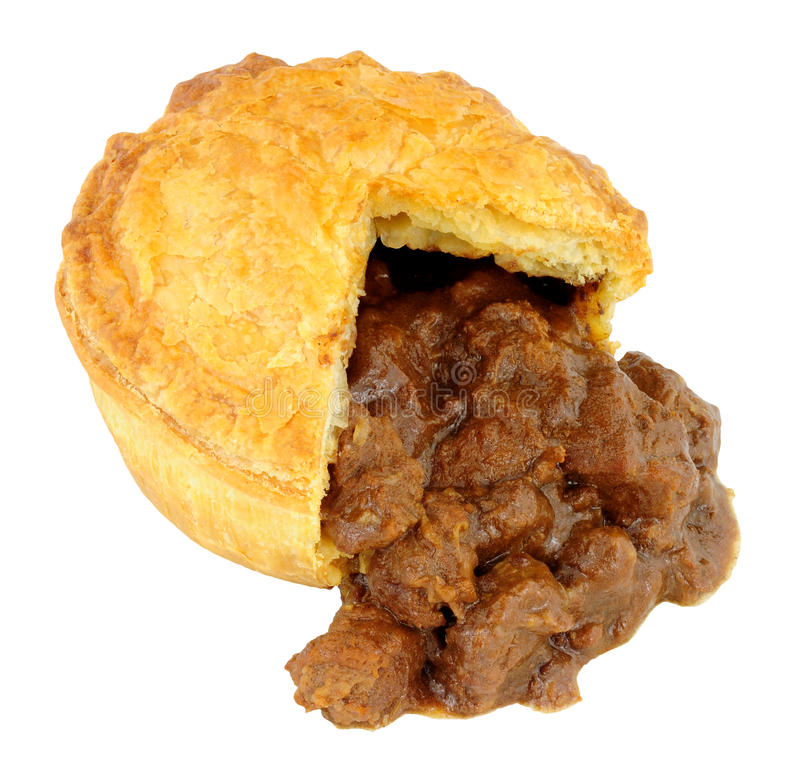 Steak And Ale Pie stock image. Image of open, filling ...