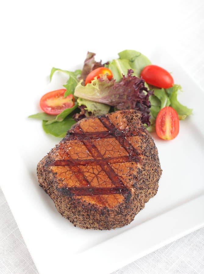 Steak au poivre image libre de droits