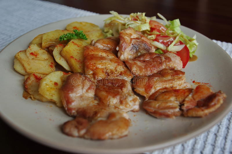 Steak chicken breast stock photography