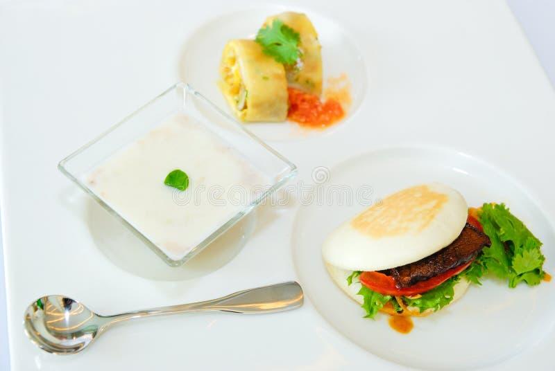 Download Steak & Dessert In Lunch Set Stock Image - Image: 26100951
