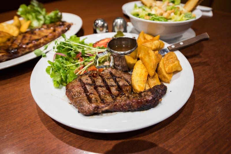 Steak eye fillet stock images