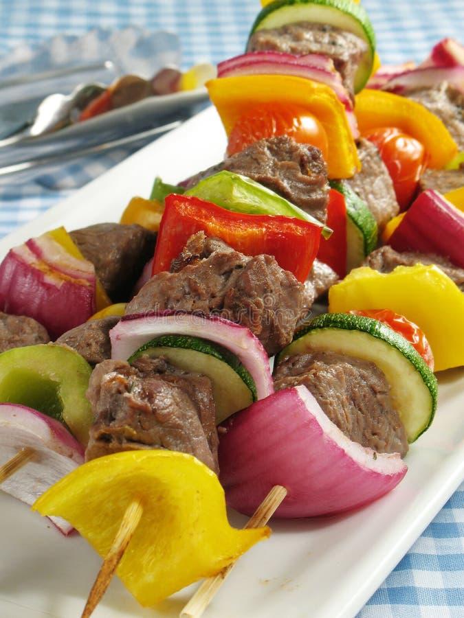 Free Steak Kebabs Stock Photography - 5710742
