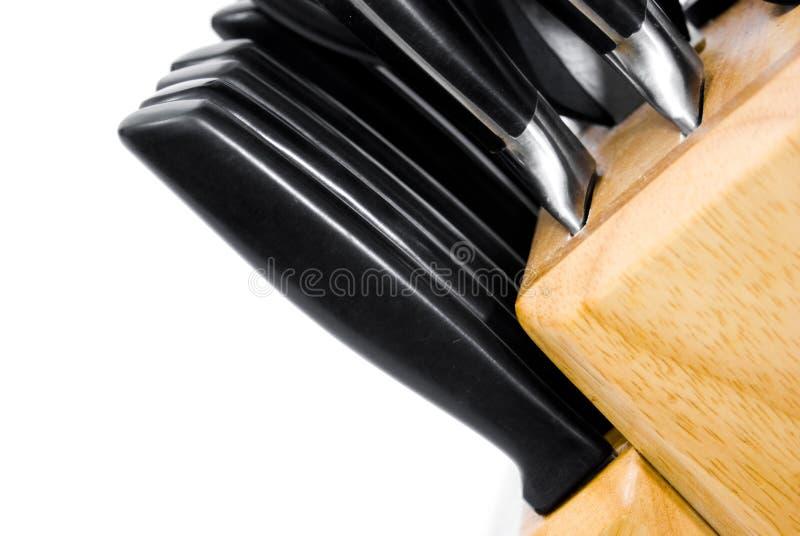 Download Steak knives in block stock image. Image of holder, kitchen - 3293529