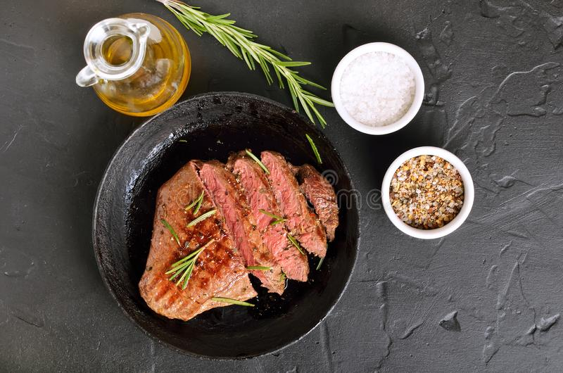 Steak medium rare beef stock images