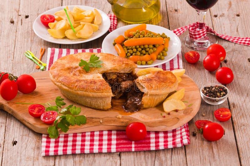 Steak pie. stock image. Image of nutrition, british ...