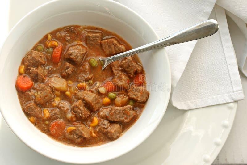 Steak Soup Stock Photo