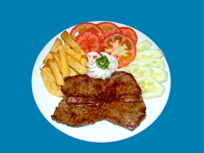 Steak tartare royalty free stock photos