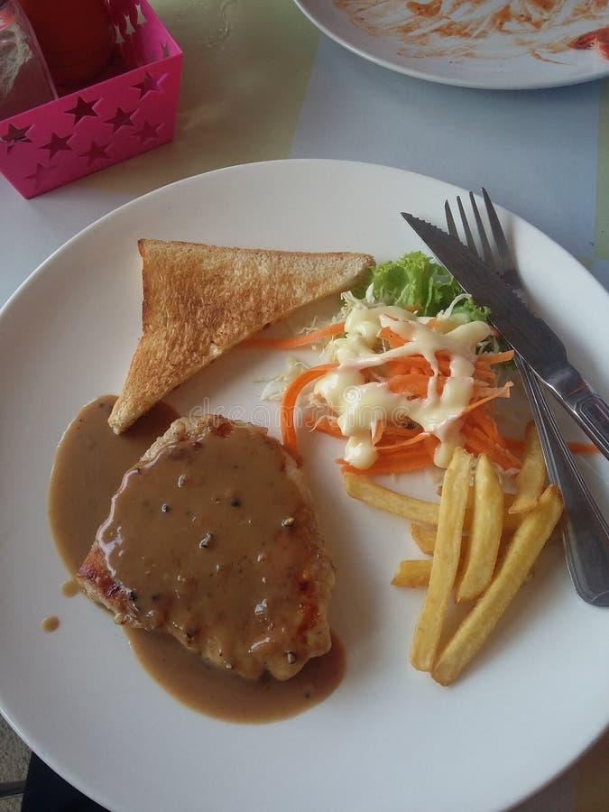 Steak von phayao Thailand lizenzfreie stockfotografie