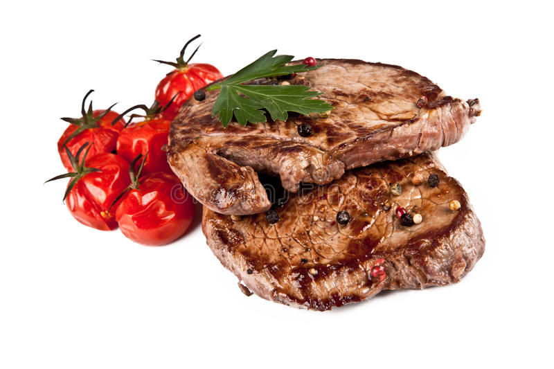 Steaks stock photo