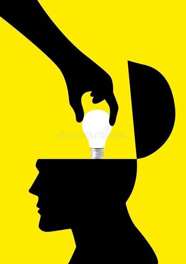 Stealing έννοια ιδεών ελεύθερη απεικόνιση δικαιώματος