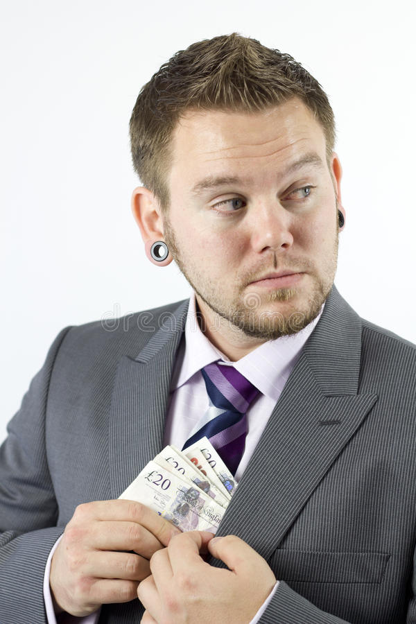 Download Stealing Money stock image. Image of suit, money, isolated - 16516949
