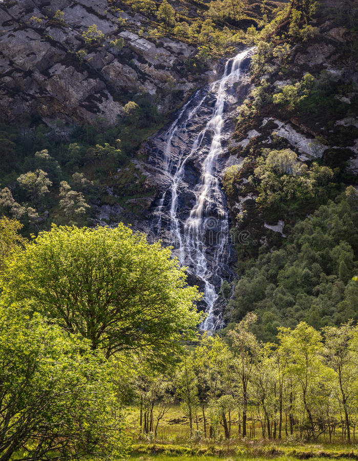 Download Steall stock image. Image of water, britain, mountain - 33672959