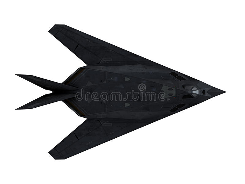 Download Stealth aircraft stock photo. Image of bomber, plane - 34432956