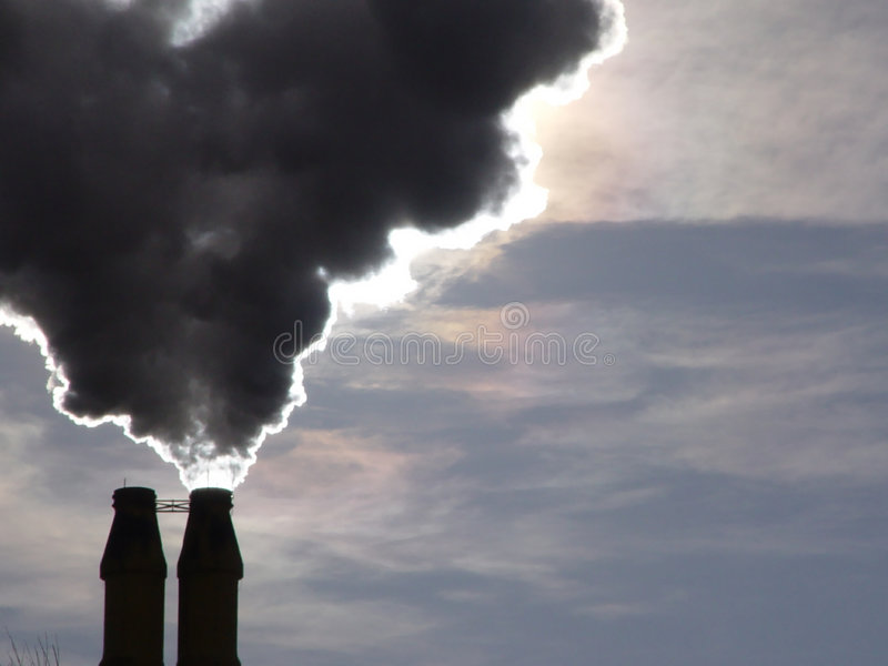 Download Steam 2 stock photo. Image of emission, industries, environment - 14670